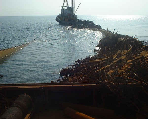 Salvage of Cargo M/V Main