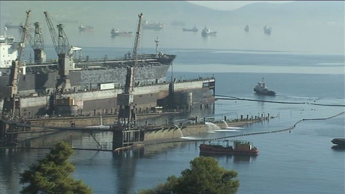 Refloating of Dry dock at ESRY by GDC under subcontract